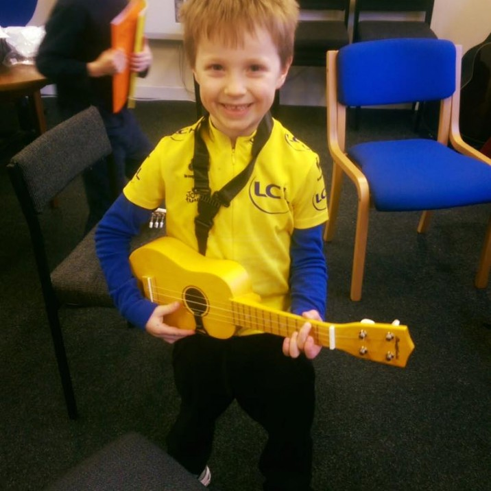Hands Up for Ukelele lessons!