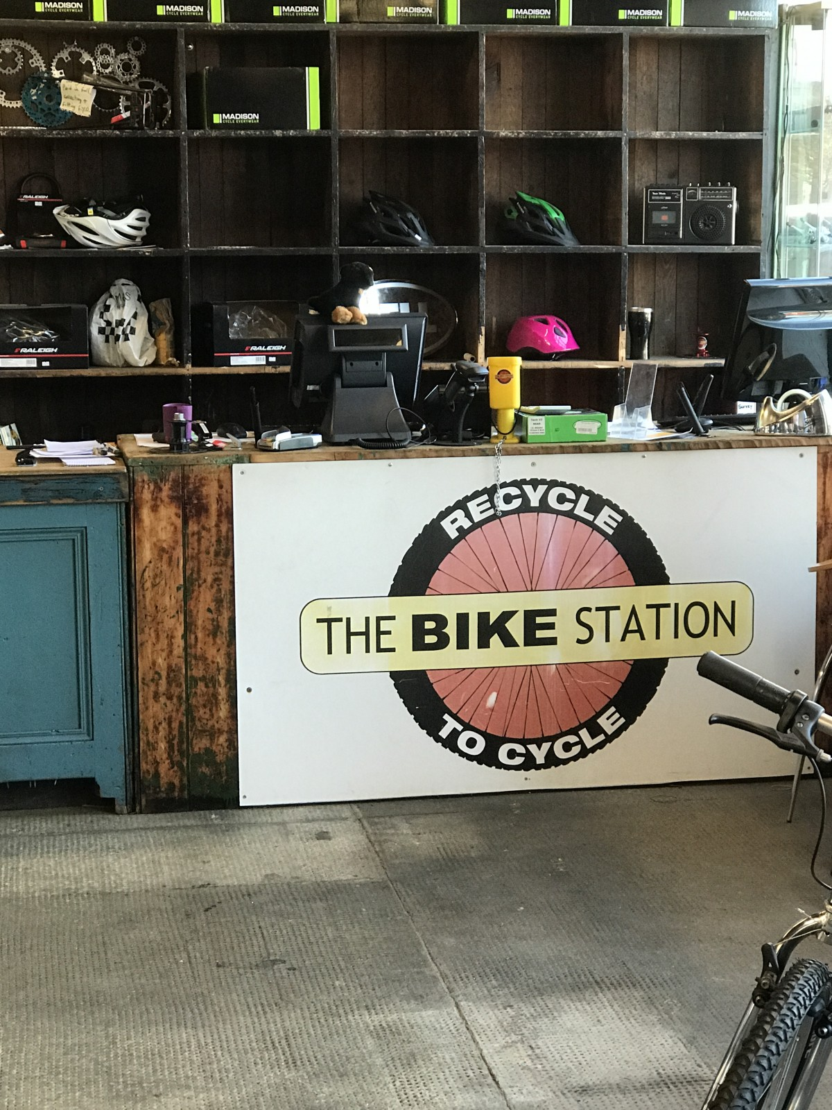 Bike Station Perth - Main desk
