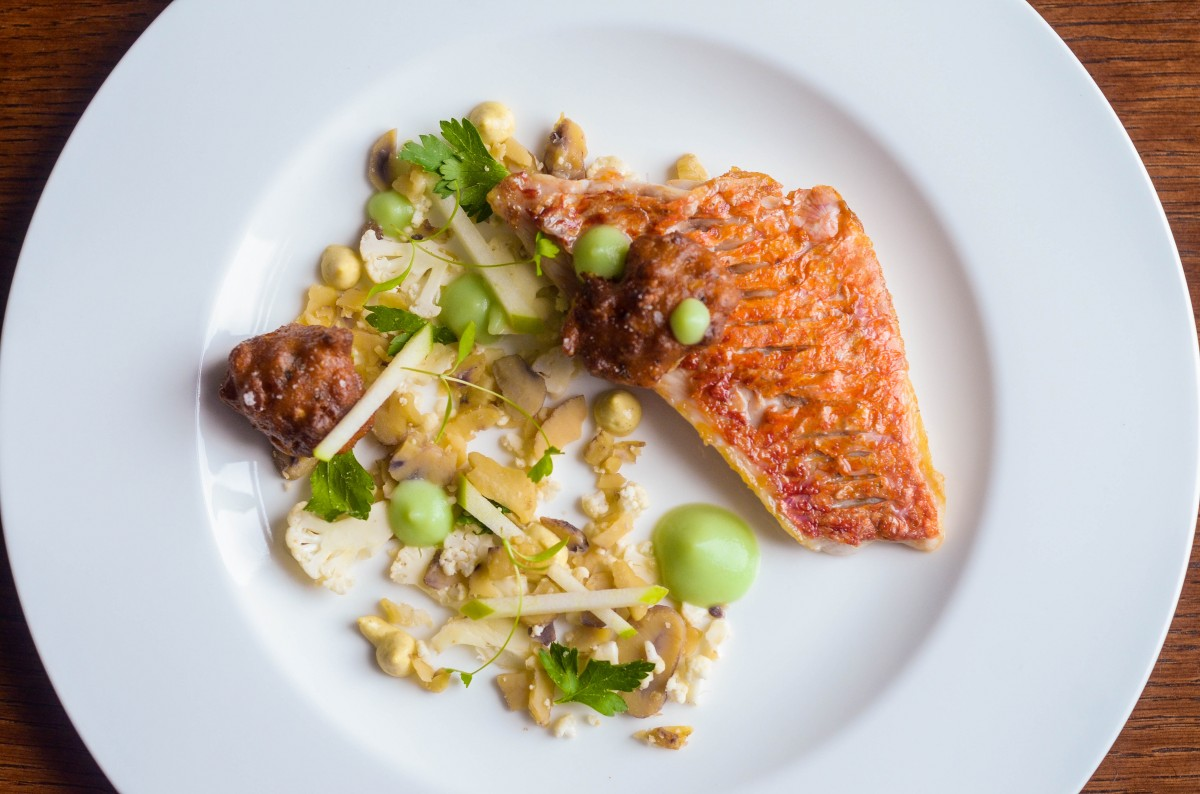 DEMO DINNERS Red mullet