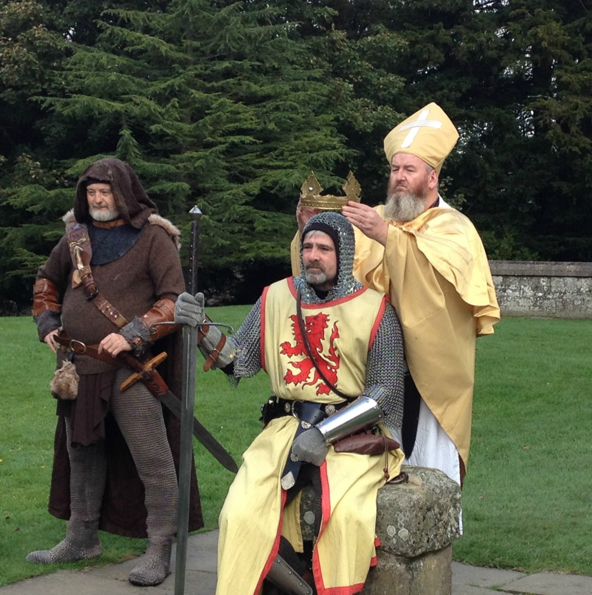 History enthusiasts unite as Scone Palace hosts the ultimate heritage day celebrating King Robert the Bruce