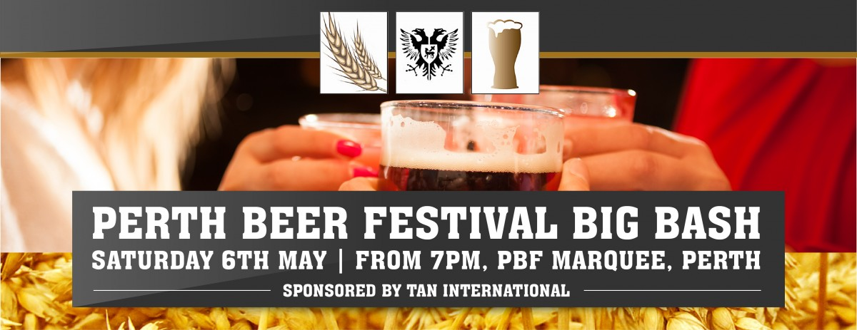 Beer Festival Big bash poster
