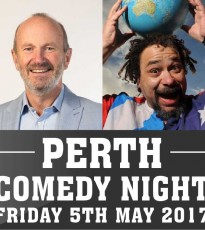 Finest stand-up headlining Perth Comedy Night on Friday 5th May