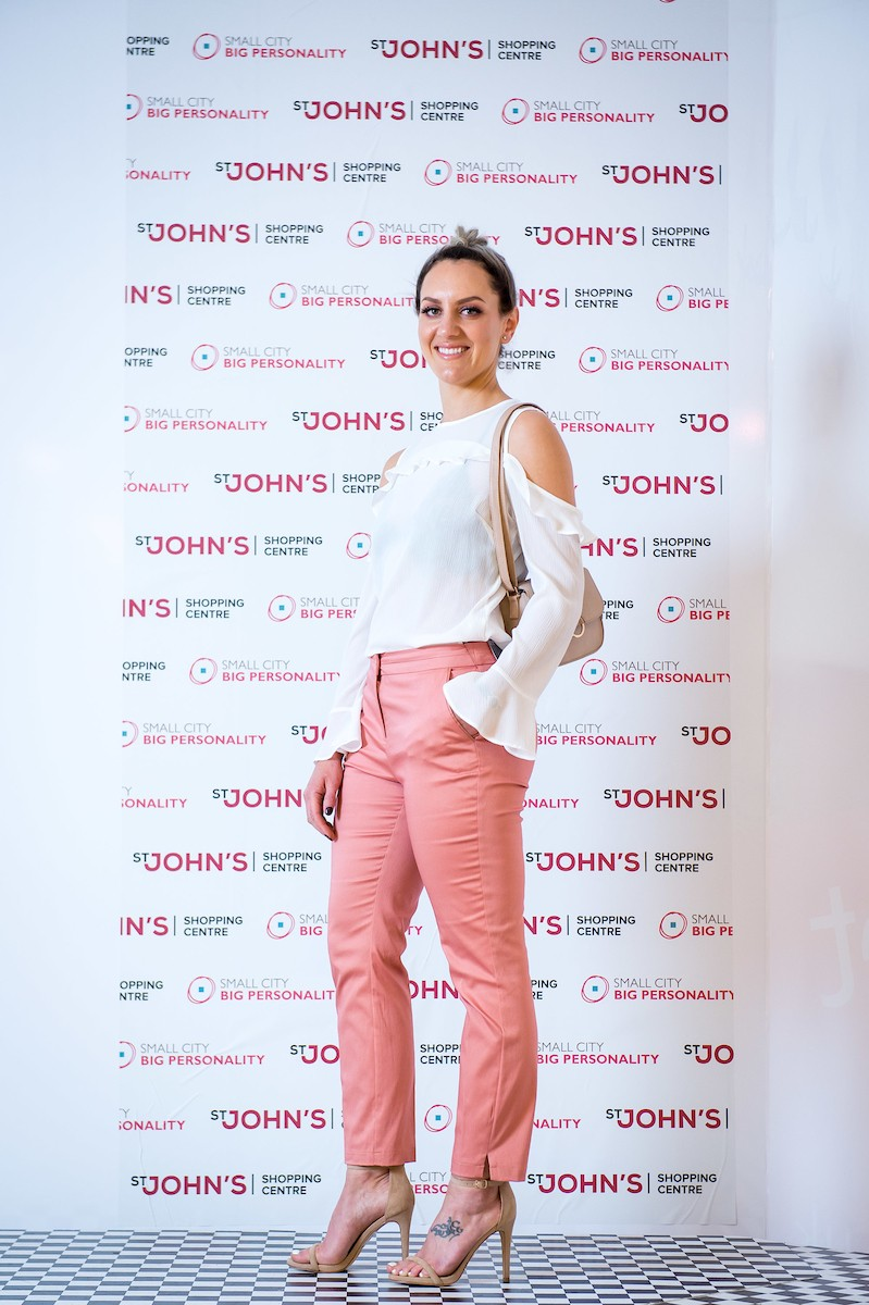 OBV Ladies Day pink trouser