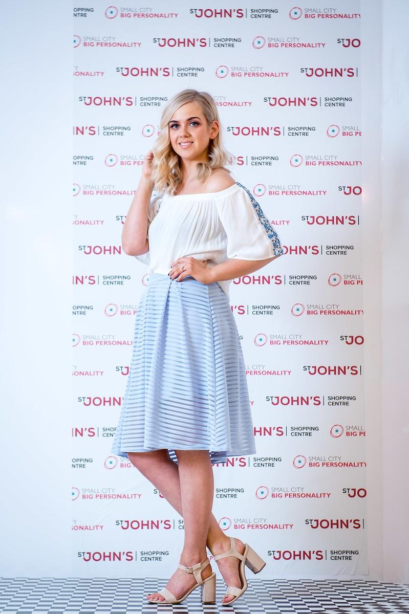 OBV Ladies Day Blue Skirt