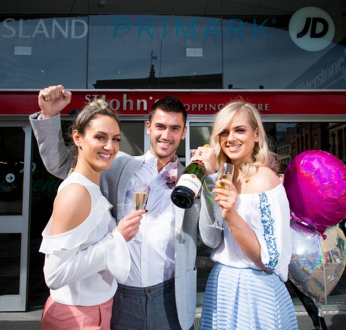 Join us St John's Shopping Centre For The Ladies Day Countdown