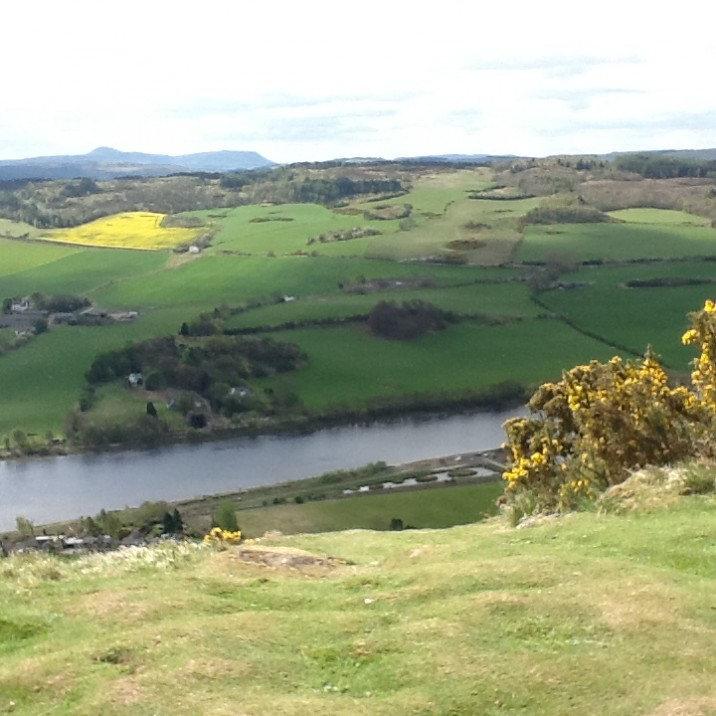 A nice river that you can see from the top of Kinnoull hill