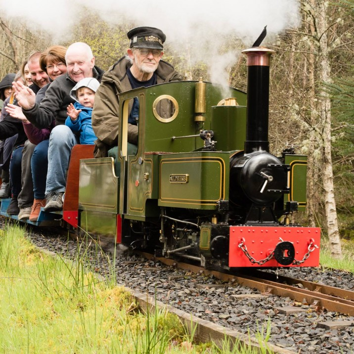 Tiny Trains and Big Smiles