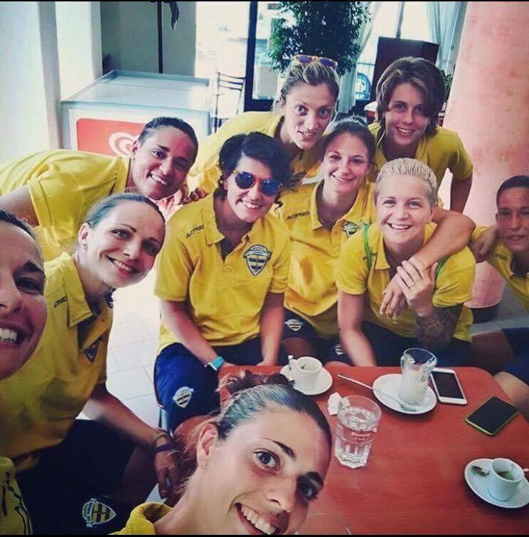 Lana Clelland - Tavagnacco teammates