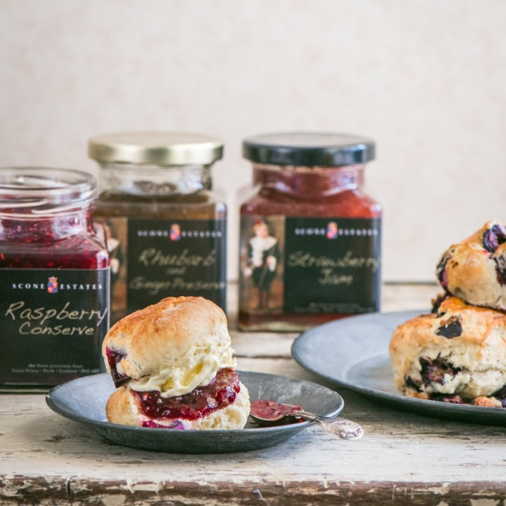 Scone Palace Blueberry Scones