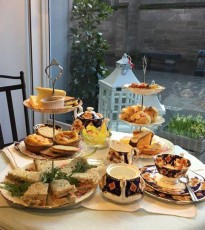 The recent expansion means this award winning florist now offers on of the best afternoon teas in town!