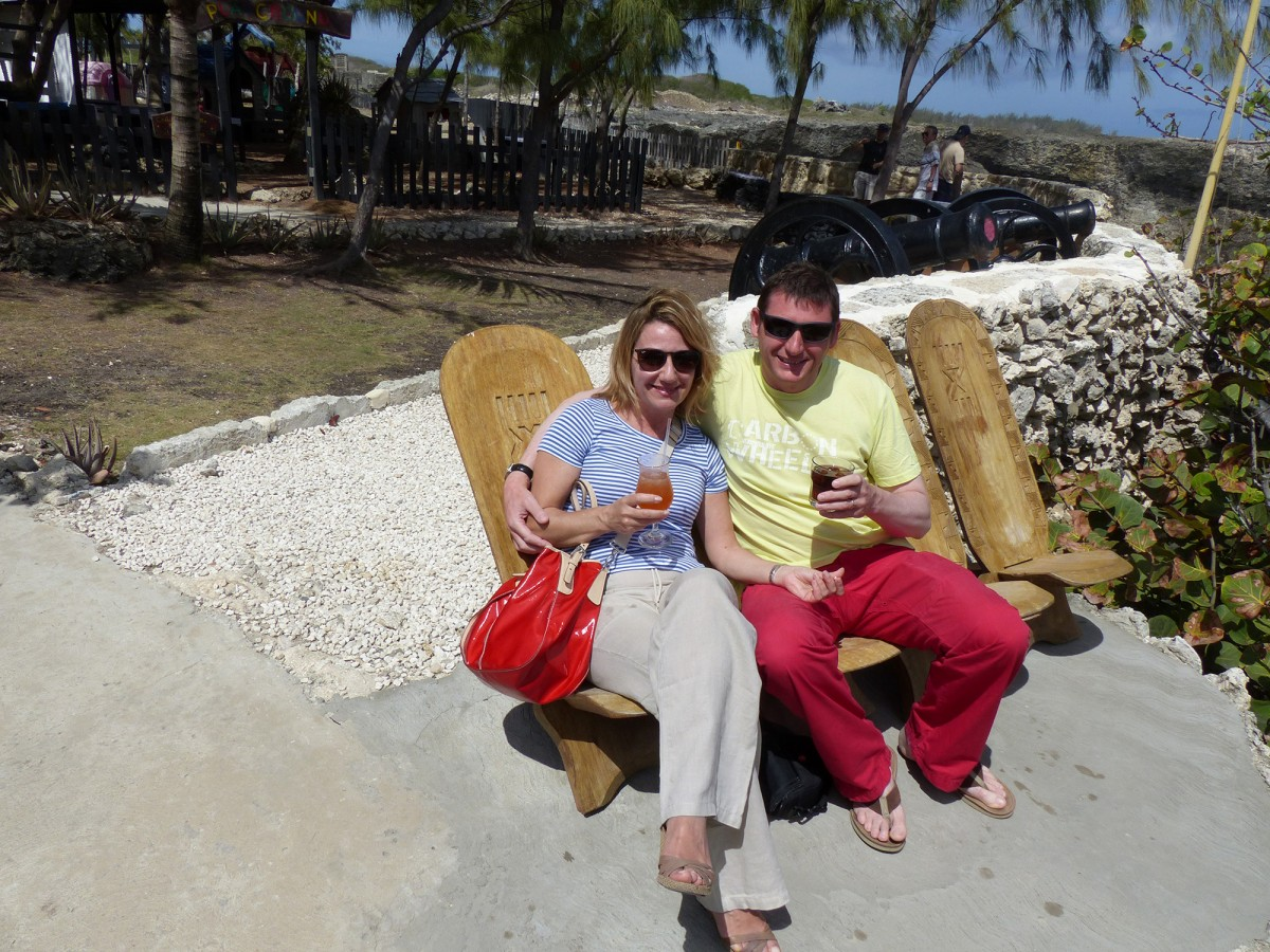 Workdays and Weekends - Laura Raimondi with husband