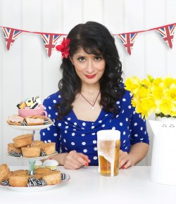 "Shappi Khorsandi is celebrating the 40th anniversary of her arrival in Britain with her latest touring show, reclaiming patriotism, sending a love letter to her adopted land and politely asking ""please don't come if you're a skinhead, though naturally bald folk are welcome""."