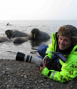 """Wildlife cameramen don't come much more special than Doug Allan""