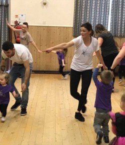 Dance exercise classes inspired by traditional Scottish dancing.