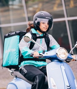 Deliver to you?  Deliveroo do.