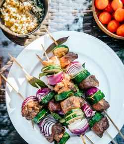 Summer Lamb Skewers