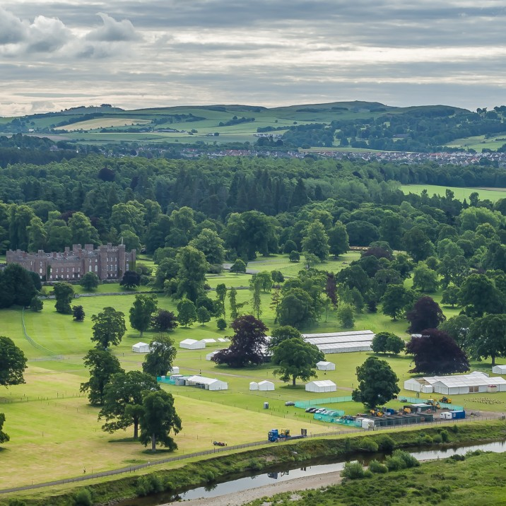 Scone Palace and Grounds prepare for Game Fair