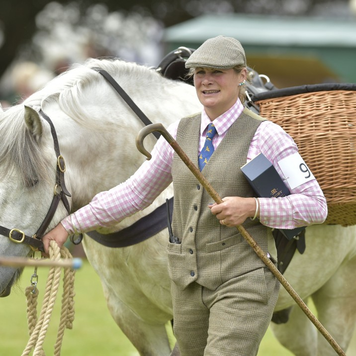 You can lead a horse to the Scottish Game Fair