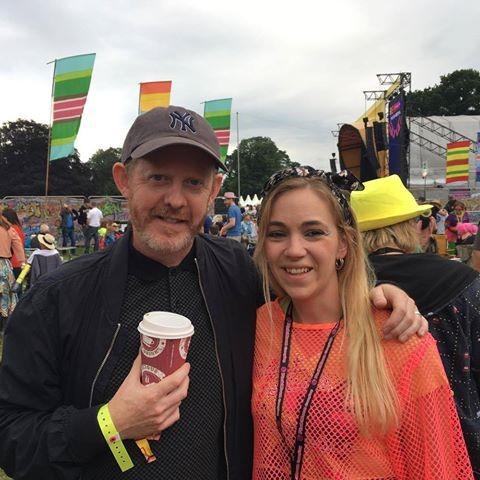 Colin McCreadie enjoying Rewind 2017!