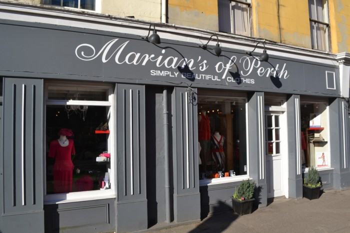 Marians of Perth - Front of shop