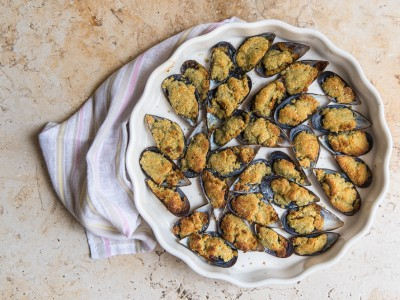 Almond Mussels