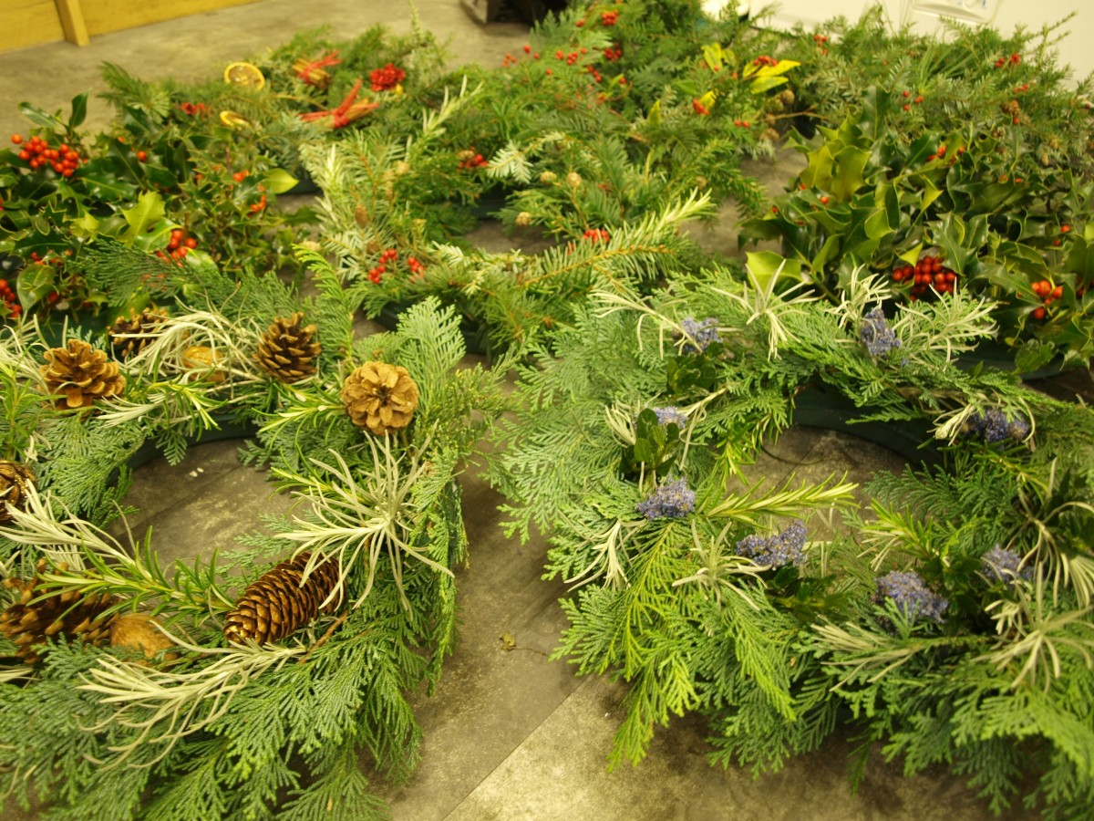 Impress your friends and family this Christmas with a beautiful, hand-made festive wreath.