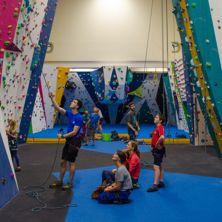 We sent Gary along to the Perth College Climbing Centre to have a go on the wall.