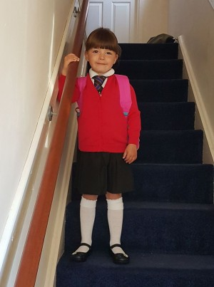 The First Day at School!