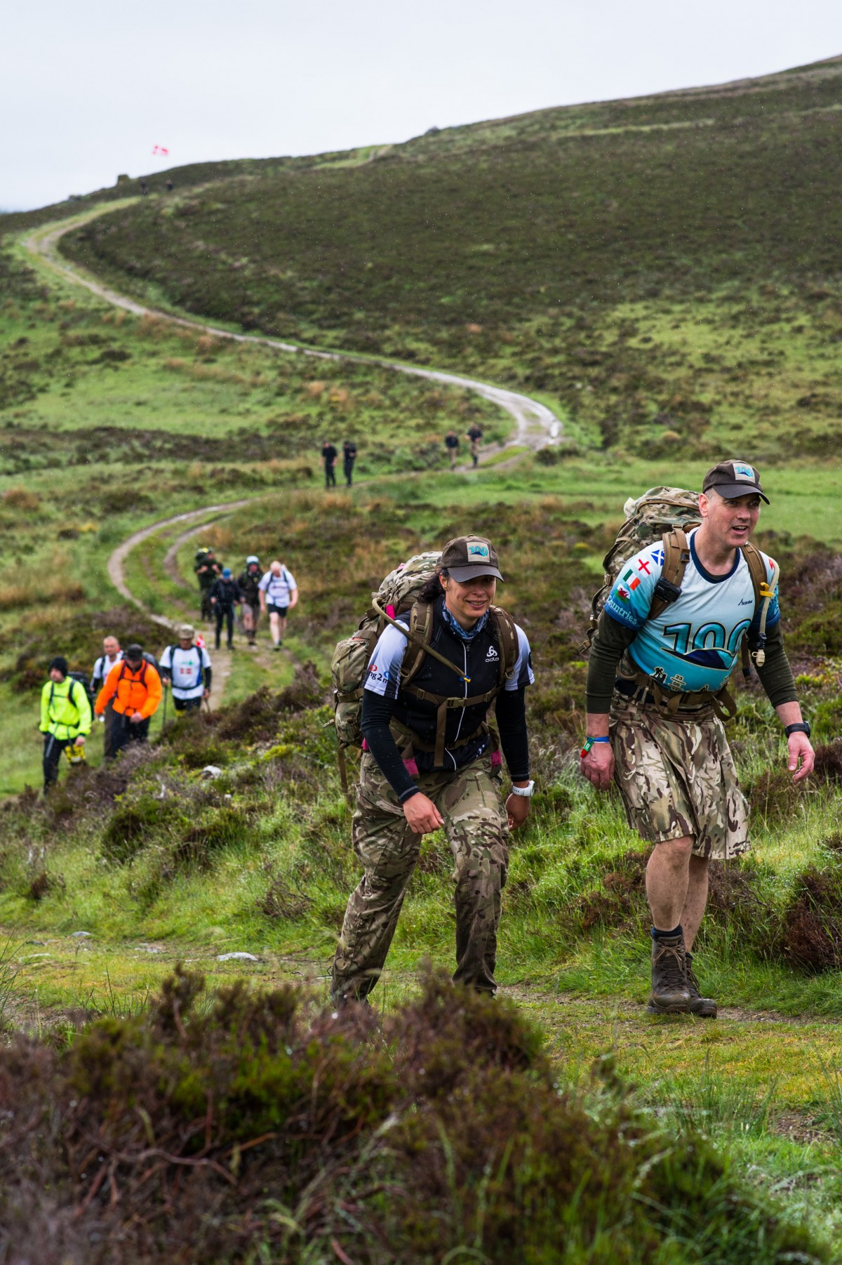 The Cateran Yomp (a military term for a long-distance march) is the biggest, toughest event of its kind.
