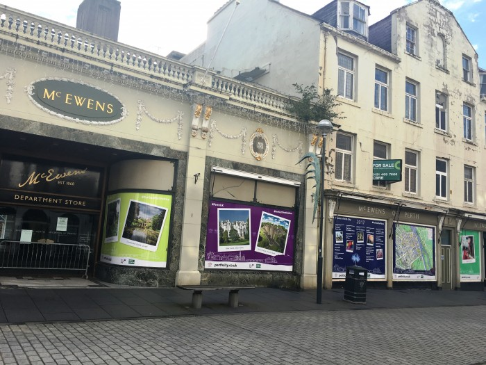 McEwens Shop front - Sold to Beales