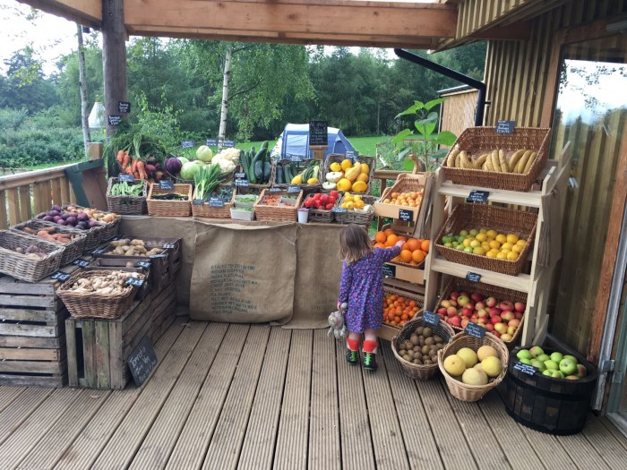 Comrie Croft sell a wide variety of fresh produce for you to take home