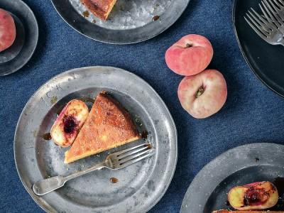 Orange and Almond Gin Cake