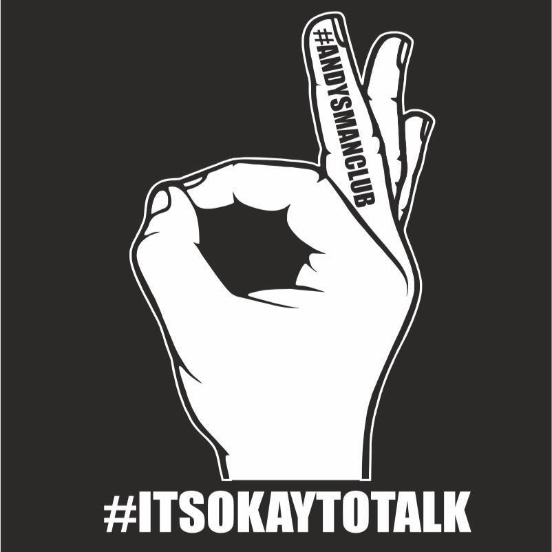 "A group for men that meets every Monday night, providing a safe and judgement-free environment and letting males know that ""It's Okay to Talk."""