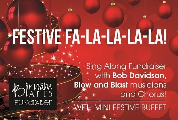 Blow & Blast and the Birnam Fundraising Team present Festive Fa-La-La-La-La!