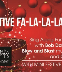 Christmas Fundraiser Sing-Along with festive mini-buffet and mulled wine!