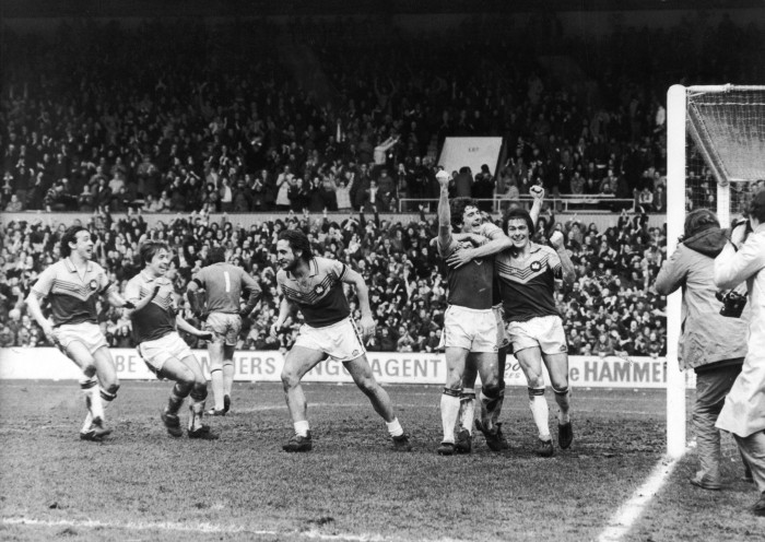 Ray Stewart Scoring Against Villa in FA Cup
