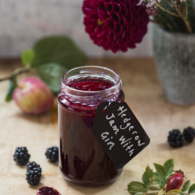 Hedgerow Jam with Gin