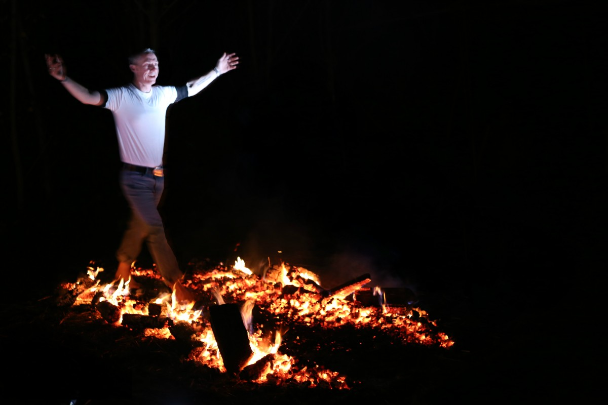 the phoenix firewalk has teamed up with perth and kinross council to