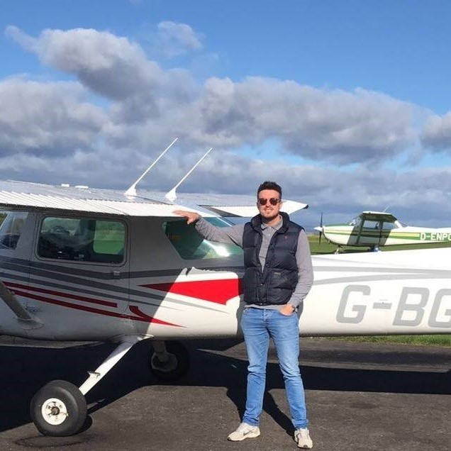 ACS Flight Training Review - Gary and plane