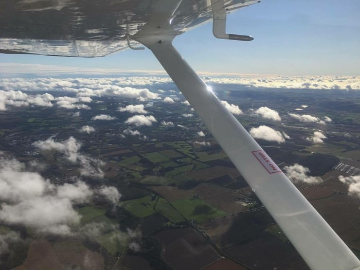 ACS Flight Training - Perth from above