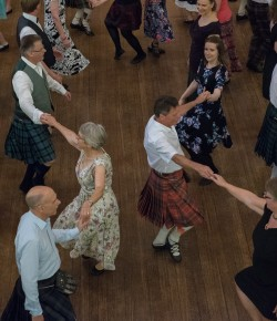 The Royal Scottish Country Dance Society are holding their annual AGM and Conference weekend at Bell's Sports Centre at the beginning of November and this year are holding a ceilidh event open to the public, with other events such as classes, discussions and a formal dance too.