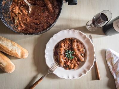 Red Wine Sausage Stew