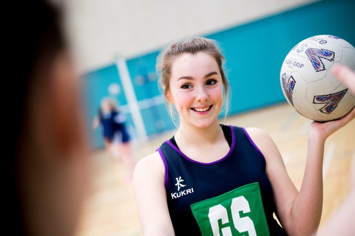 Live Active Getting Girls Active sports article - Netball