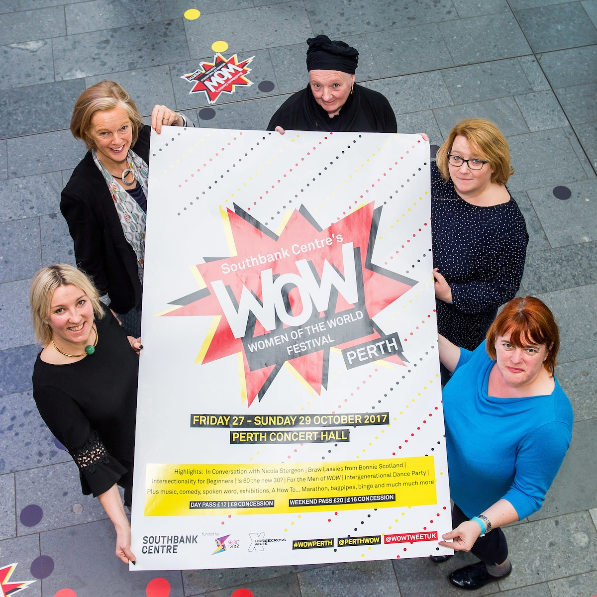 Following a fantastic launch in October 2017, WOW- Women of the World Festival, will return to Scotland for the second time in September 2018.