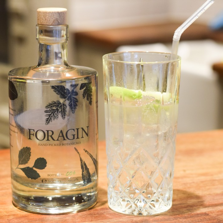 We can't think of a better way to kick off the festive party season than with a bottle of North Port's own foraged gin worth £30. A well-deserved 2AA Rosette award was presented to Andrew earlier this year, who has also created his own foraged gin for off and onsales.