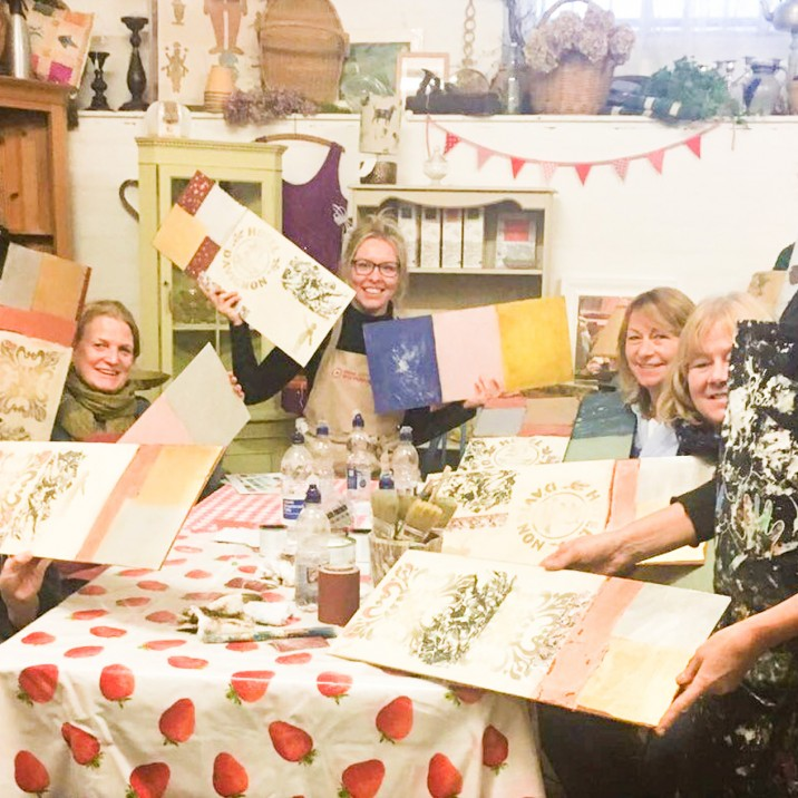 Annie Sloan Chalk Paint & Upcycling Workshop Review at Underneath The Arches in Perth, Perthshire, Scotland