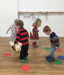 Inspired by Scotland and Highland dancing, the classes are energetic and focus on basic movement, rhythm and fun.