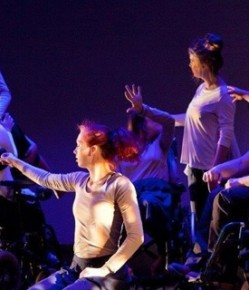 Creative dance classes for adults with mental or physical disabilities.