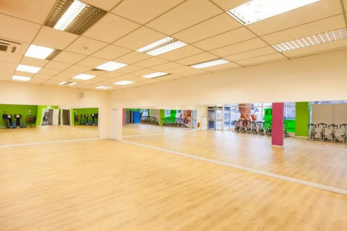 The Fit4less gym in Perth has a great space for fitness classes.