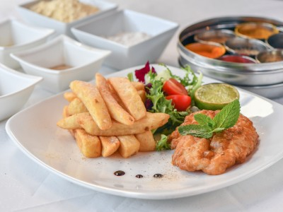 Hot and Spicy Fish & Chips
